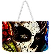Sugar Skull In Blue  Weekender Tote Bag