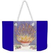 Sugarplum Fire Weekender Tote Bag