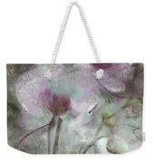 Suggestion Of An Orchid Weekender Tote Bag