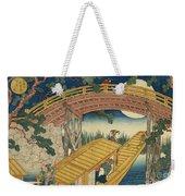 Suihiro Bridge In Moonlight Weekender Tote Bag