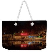 Suisan Fish Market At Night Weekender Tote Bag