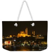 Suleymaniye At Night Weekender Tote Bag