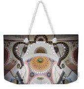 Suleymaniye Mosque Ceiling Weekender Tote Bag