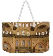 Suleymaniye Mosque Interior Weekender Tote Bag