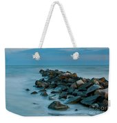 Sullivan's Island Rock Jetty Weekender Tote Bag