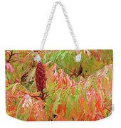 Sumac Tree Autumn Reflections Weekender Tote Bag