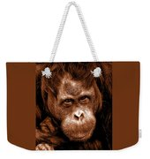 Sumatran Orangutan Female Weekender Tote Bag