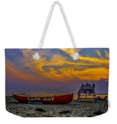 Summer Sunset In Cape May Nj Weekender Tote Bag