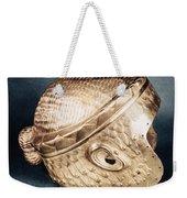 Sumerian Gold Helmet Weekender Tote Bag