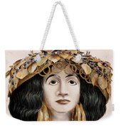 Sumerian Headdress Weekender Tote Bag