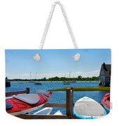Summer Afternoon Boating Weekender Tote Bag