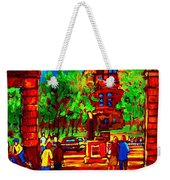 Summer At Mcgill University Weekender Tote Bag
