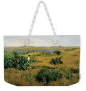 Summer At Shinnecock Hills Weekender Tote Bag by William Merritt Chase