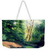 Summer At Storm Weekender Tote Bag