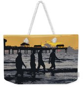 Summer At The Beach Weekender Tote Bag