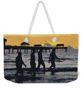 Summer At The Beach Weekender Tote Bag