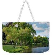 Summer At The Lake Weekender Tote Bag