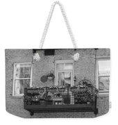 Summer Balcony In B W Weekender Tote Bag