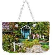 Summer Beach House Weekender Tote Bag