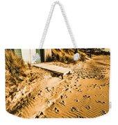 Summer Beach Shacks Weekender Tote Bag