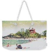 Summer Beach Sunshine Weekender Tote Bag