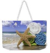 Summer Beach Towels Weekender Tote Bag by Amanda Elwell