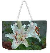 White Tiger Lilies  Weekender Tote Bag