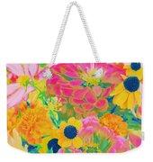 Summer Blossoms - Pop Art Weekender Tote Bag