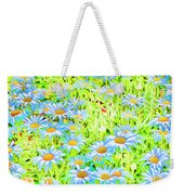 Summer Blues Weekender Tote Bag