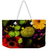 Summer Boquet Weekender Tote Bag