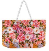 Summer Bouquet Weekender Tote Bag