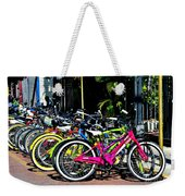Summer Bright Pedals Weekender Tote Bag