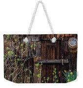 Summer Cabin Weekender Tote Bag