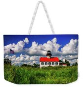 Summer Clouds At East Point Weekender Tote Bag