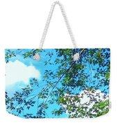 Summer Clouds Weekender Tote Bag