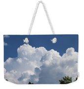 Summer Clouds In Maine Weekender Tote Bag