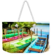 Summer Colors Weekender Tote Bag