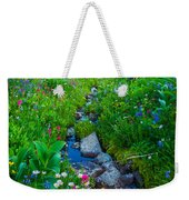 Summer Creek Weekender Tote Bag