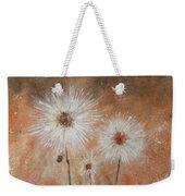 Summer Dandelions Weekender Tote Bag
