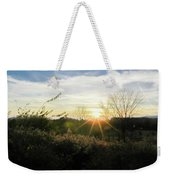 Summer Day Going Into Evening.  Weekender Tote Bag