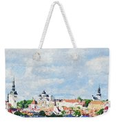 Summer Day In Tallinn Weekender Tote Bag