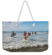 Summer Days Byron Waves Weekender Tote Bag