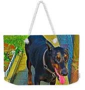 Summer Dog Day Weekender Tote Bag