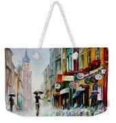 Summer Downpour Weekender Tote Bag