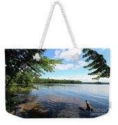 Summer Dreaming On Lake Umbagog  Weekender Tote Bag