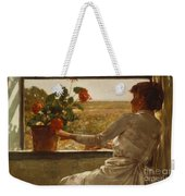Summer Evening Weekender Tote Bag by Childe Hassam
