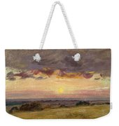 Summer Evening With Storm Clouds Weekender Tote Bag