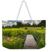 Summer Field Of Wildflowers Weekender Tote Bag