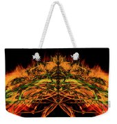 10657 Summer Fire Mask 57 - The Fire Bug Weekender Tote Bag