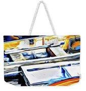 Summer Fishing Boats Weekender Tote Bag